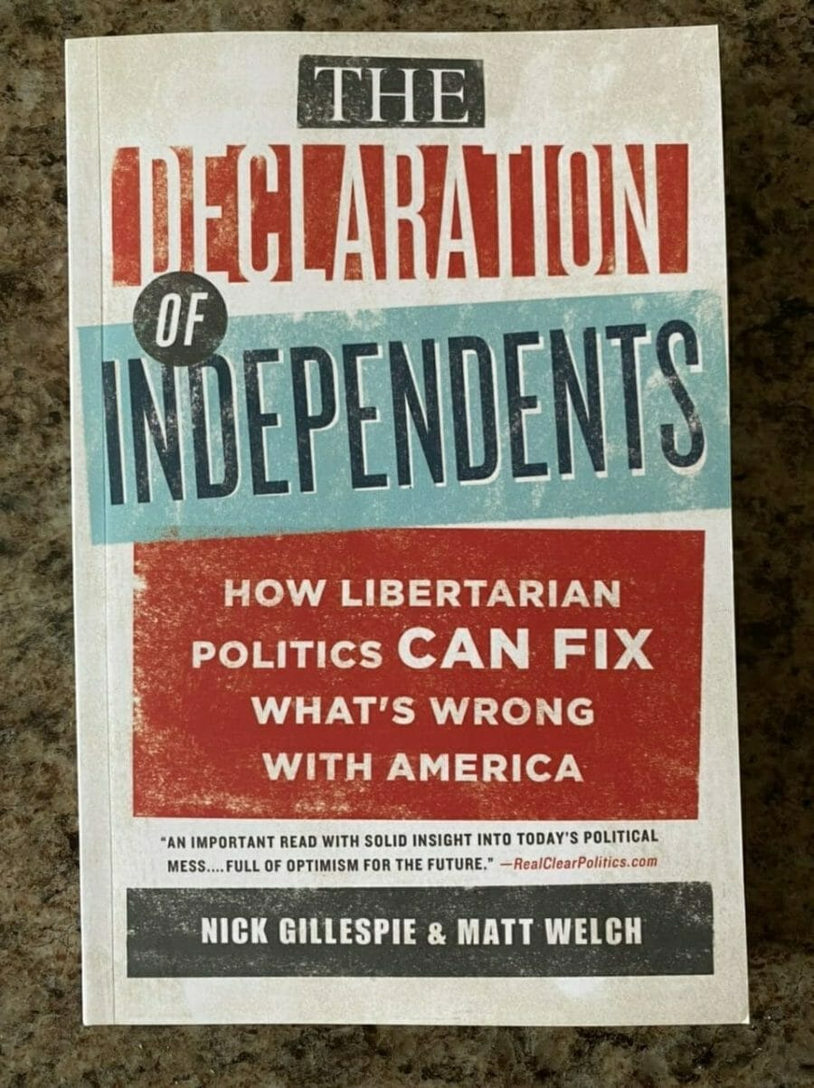 Book cover for The Declaration Of Independents